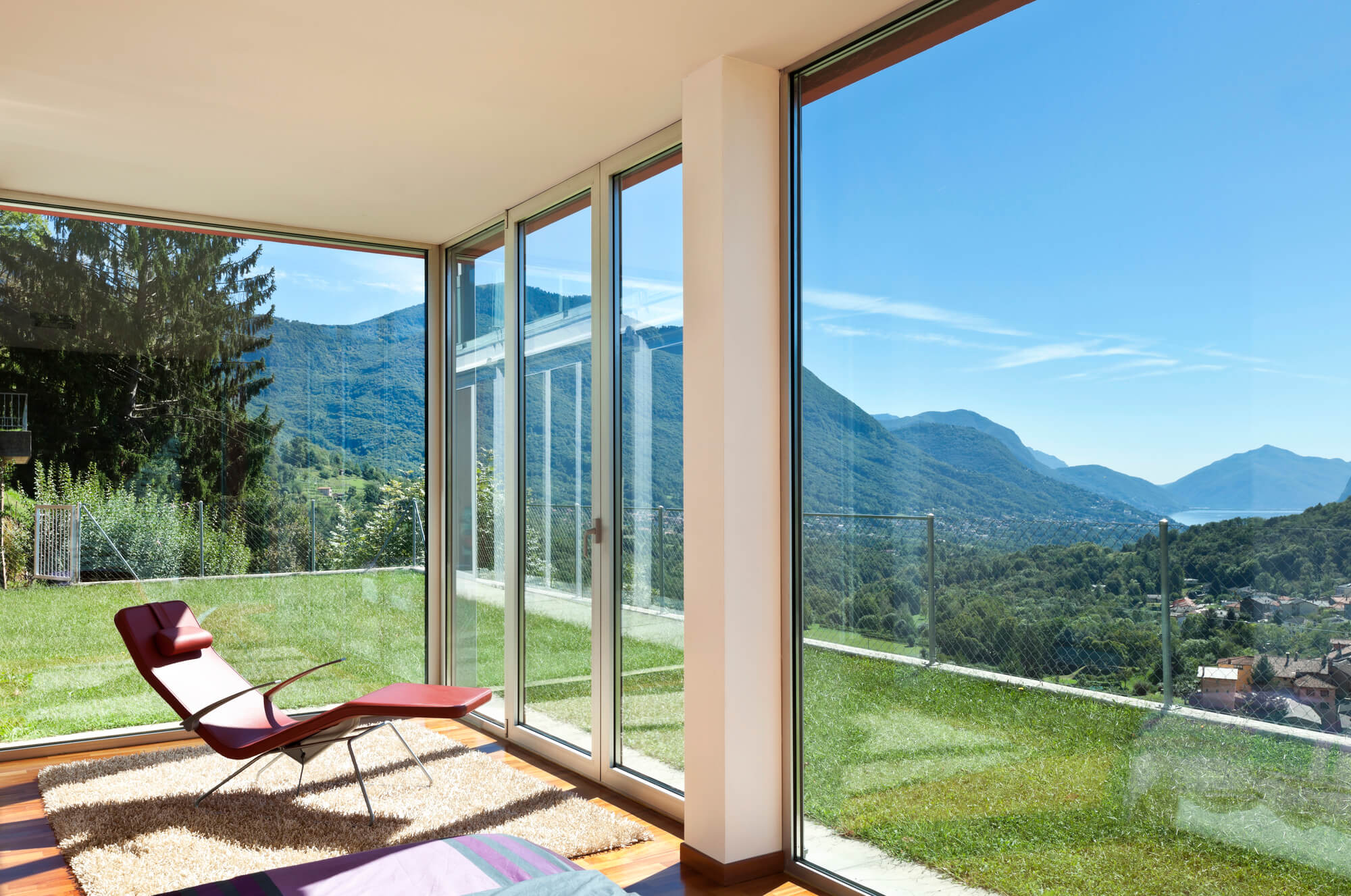 great view with impact windows and doors from good financing